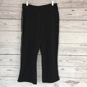 THE NORTH FACE Black Cropped Track Pants Small